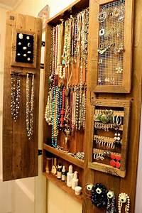 Idée Rangement Bijoux : rangement bijoux 50 id es pour ranger vos bijoux rangement de bijoux rangement bijoux et ~ Melissatoandfro.com Idées de Décoration