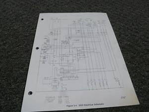 Mec 2033 2033es Scissor Lift Work Platform Electrical