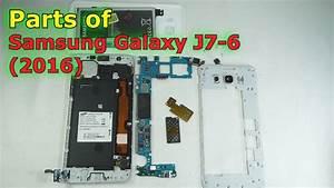Parts Of Samsung Galaxy J7-6  2016  Edition