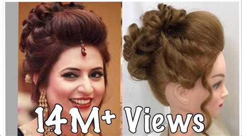 3 Beautiful Hairstyles With Puff