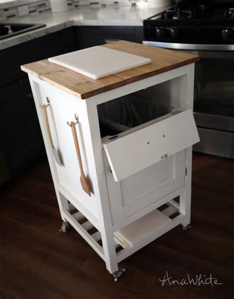 diy kitchen island cart white how to small kitchen island prep cart with