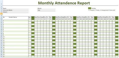 employee attendance calendar  attendance calendar