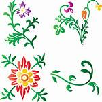 Flower Plants Icons Stickers Flowers Pixel