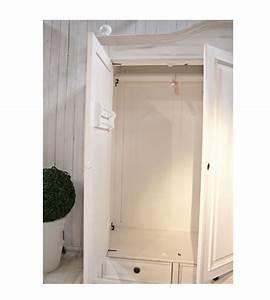Kleiderschrank 2 Türig Holz : landhaus kleiderschrank 2 t rig mit spiegel massiv aus holz ~ Bigdaddyawards.com Haus und Dekorationen