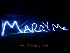 project ideas photos and instructions With marry me light up letters
