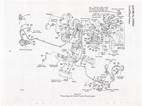 Ih 574 Wiring Harnes by 485 International Wiring Harness Diagram Circuit