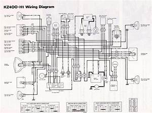 1979 K Z 400 Wiring Diagram
