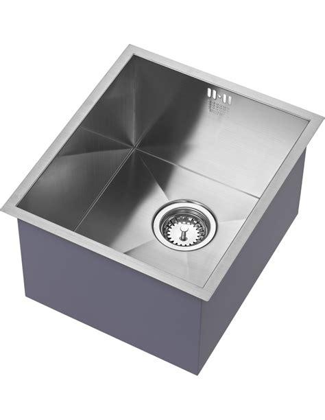 modern kitchen sinks uk zu 34 u s 018 1810 zenuno 340u single bowl sink 7736