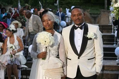 Thandaza Ranthumeng?s classy wedding.   A re di fefere le