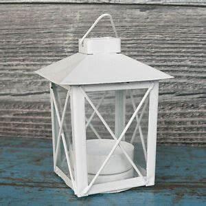 Kleine Laterne Basteln : kleine laterne metall wei teelicht windlicht ~ A.2002-acura-tl-radio.info Haus und Dekorationen