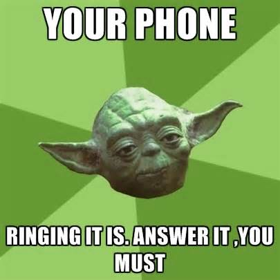 Answer Your Phone Meme - answer your messages lovellycommunications