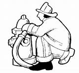 Coloring Hydrant Fire Firefighter Pages Shamu Clipart Cliparts Colorear Coloringcrew Library sketch template