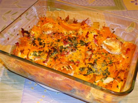 cuisiner butternut gratin potimarron partage de recettes entre les membres de l