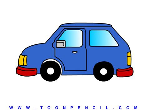 kid car drawing animated car side view how to draw car side for kids