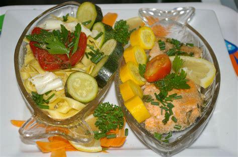 cuisine à la vapeur recettes saumon en papillote courgettes etc au cuit vapeur