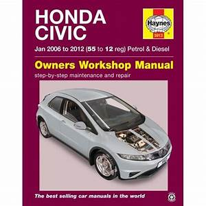 Vehicle Manual For Honda Civic Petrol  U0026 Diesel  05