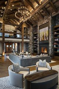 Rustic, Living, Room, Decor, Ideas, Inspired, By, Cozy, Mountain