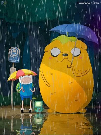 Adventure Gifs Jake Totoro Neighbor Finn Mp4
