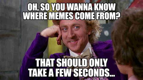 First Memes - what was the first meme ever an exhaustive investigation thrillist