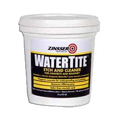 zinsser watertite etch  cleaner product page
