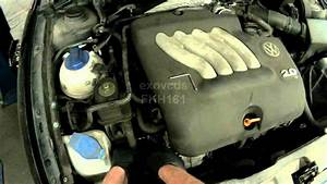 Vw A4  2 0l Avh Serpentine Belt Removing