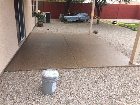 epoxy flooring for patio patio epoxy coating laying a pebble patio how tos diy redroofinnmelvindale com