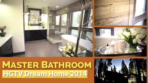 master bathroom  hgtv dream home  pictures