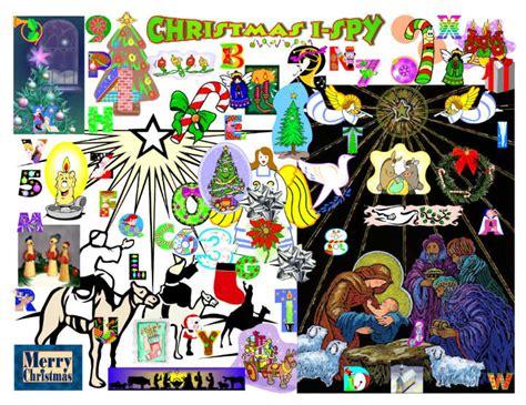 kidology  christmas  spy printable worksheets