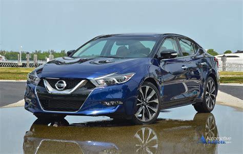 2016 Nissan Maxima Sr First Drive
