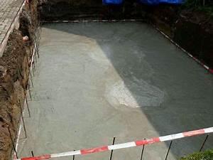 Tire Fond Beton : construction d 39 un bassin koi chez koiconnect ~ Mglfilm.com Idées de Décoration