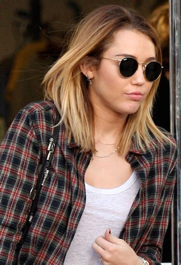 hairstyle of the week miley cyrus haircut
