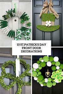 15 St.Patrick's Day Front Door Decorations - Shelterness