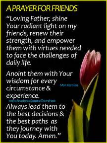 a prayer for friends quot loving shine your radiant light on my friends renew their