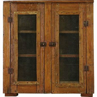 Antique Pantry Rustic Pine Pie Safe Country