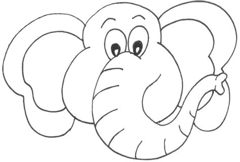 Elephant Template For Preschool by Template For Elephant Elmer And Wilbur Teaching Ideas