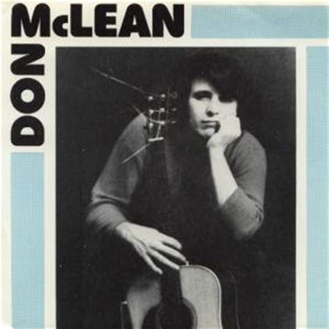Don Mclean Empty Chairs Don Mclean