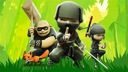 Ninjas Mini Ninja Games Wallpapers 4k Backgrounds