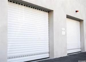 porte de garage enroulable ou sectionnelle aluminium avec With porte de garage enroulable avec persienne pvc