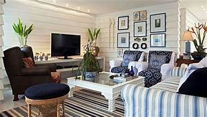 Colorful and Beautiful Beach Cottage Interiors - YouTube