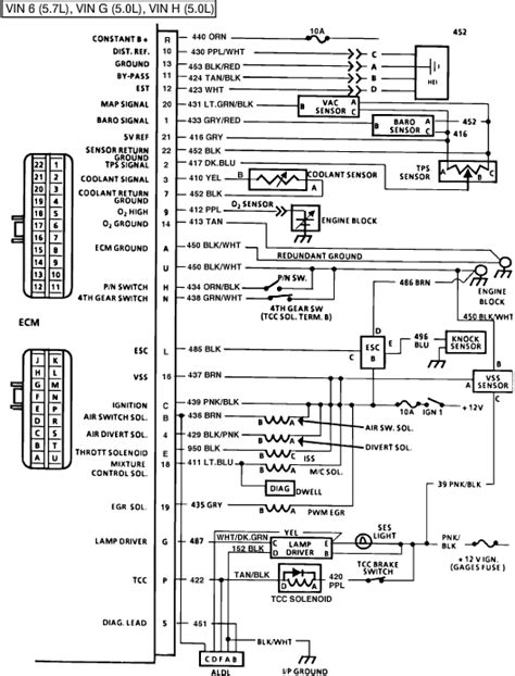 fig  ecm wiring diagram  amps volts switch