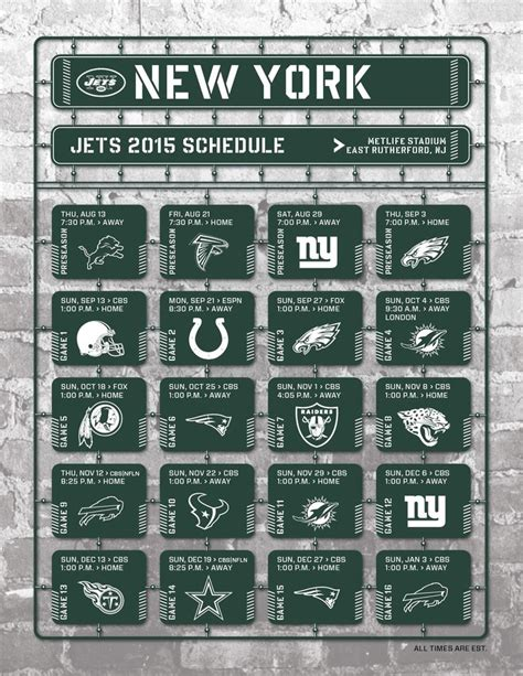 nfl  college schedules images  pinterest