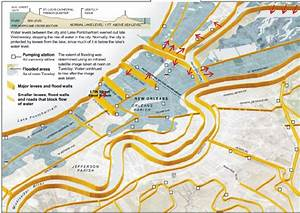 26  Schematic Layout Of Levees And Flood Walls Protecting The New