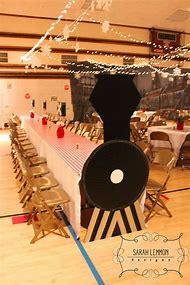 Polar Express Christmas Party Decorations