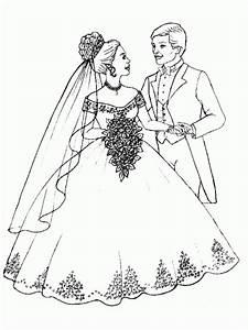 dibujos de bodas para descargar imprimir y pintar
