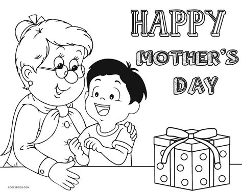 printable mothers day coloring pages  kids coolbkids