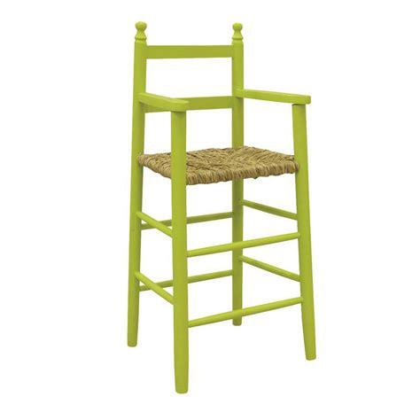 chaise en bois pour bebe chaise haute enfant bois ronan 4454