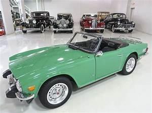 Java Green 1975 Triumph Tr