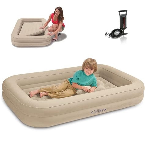 Intex Luftbett Kinder Reisebett 107 X 168 X 25 Cm Cm Real