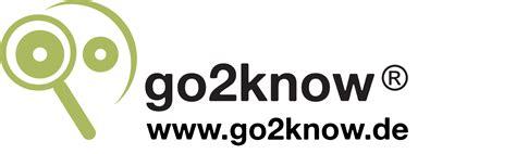 Presse - go2know
