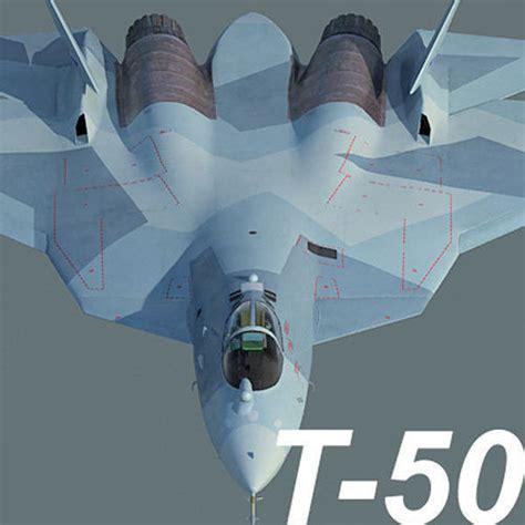 3d Russian Air Force Sukhoi T-50 Pak Fa Mass Production